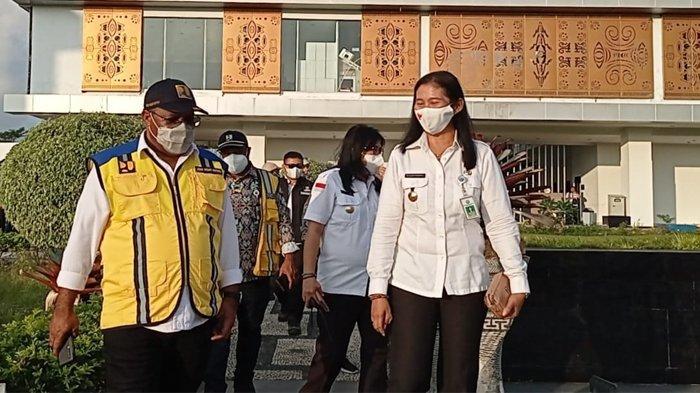 BREAKING NEWS: Wamen PUPR Kunjungi PLBN Skouw