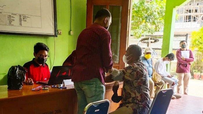 30 Warga Yabansai, Kota Jayapura Ikuti Vaksinasi Sinovac