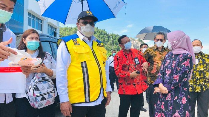 Wakil Menteri PUPR, Jhon Wempi Wetipo Tinjau Kantor Baru BPK Perwakilan Papua