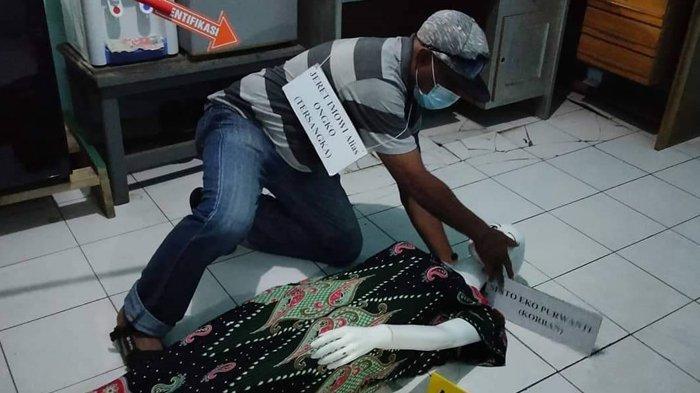 52 Adegan Rekonstruksi Ulang Kasus Curas dan Rudapaksa di Hamadi