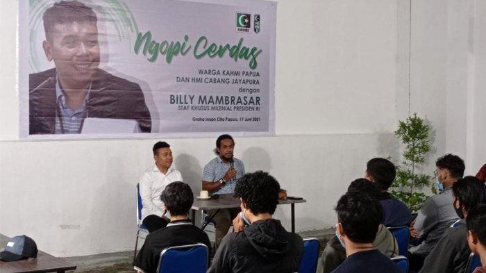 BREAKING NEWS: Stafsus Presiden Billy Mambrasar Kunjungi Graha Insan Cita Papua