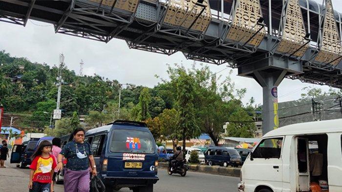 Macet di Depan Mall Jayapura Dikeluhkan Warga