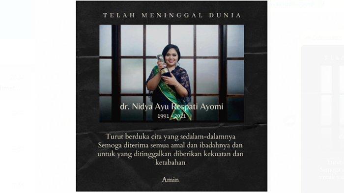 dr Nidya Ayu Respati Ayomi.