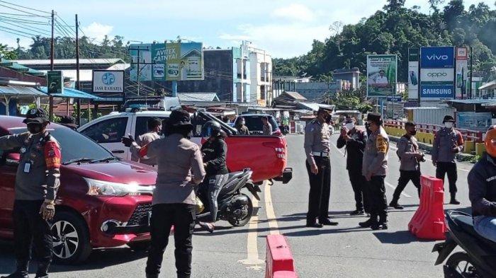 Pemberlakukan PPKM Darurat di Manokwari Diperketat