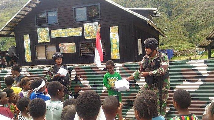 Anak-anak di Kampung Karubate Mengaku Senang dengan Diadakannya Lomba HUT RI Pertama Kali di Desanya