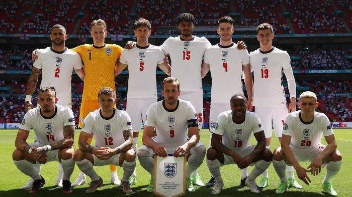 Link Live Streaming Semifinal EURO 2020 Timnas Inggris Vs Denmark, Malam Ini Pukul 02.00 WIB