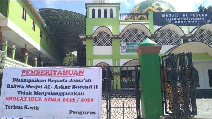 Kota Jayapura Persilahkan Shalat Idul Adha: 25 Persen Dari Kapasitas Masjid