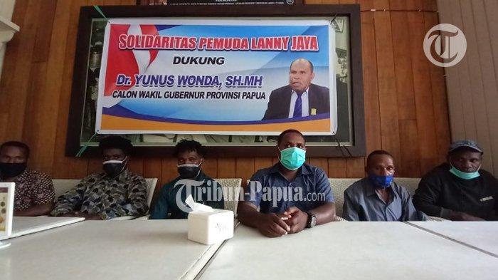 Pemuda Lanny Jaya Dukung Yunus Wonda Jadi Cawagub Papua