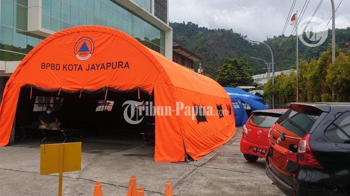 COVID - Rumah Sakit Provita Jayapura yang terletak di Jalan SAM Ratulangi Kelurahan Bhayangkara Distrik Jayapura Utara, menjadi salah satu rumah sakit rujukan pasien Covid 19 di Kota Jayapura Papua Selasa (20/7/2021).