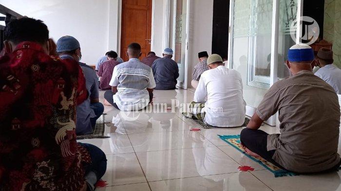 Prokes Ketat, Shalat Idul Adha di Masjid An Nur Berlangsung Hikmat