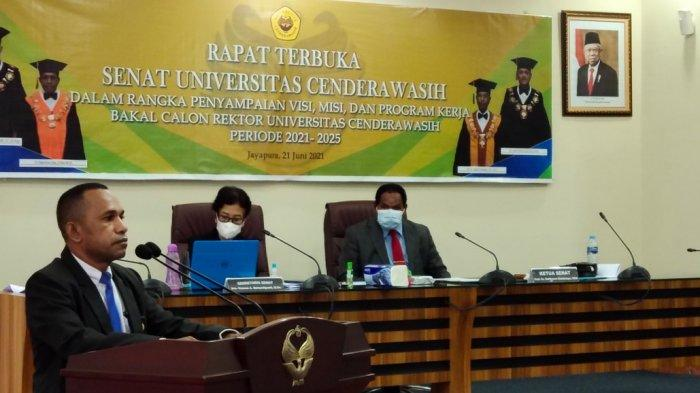 Ini Latar Fakultas 4 Bakal Calon Rektor Universitas Cenderawasih Periode 2021-2025