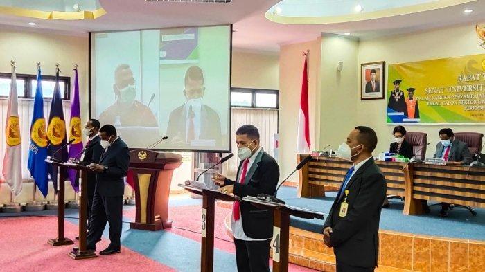 Tiga Calon Rektor Uncen Berasal dari Fakultas Teknik, Satu Dekan Fisip