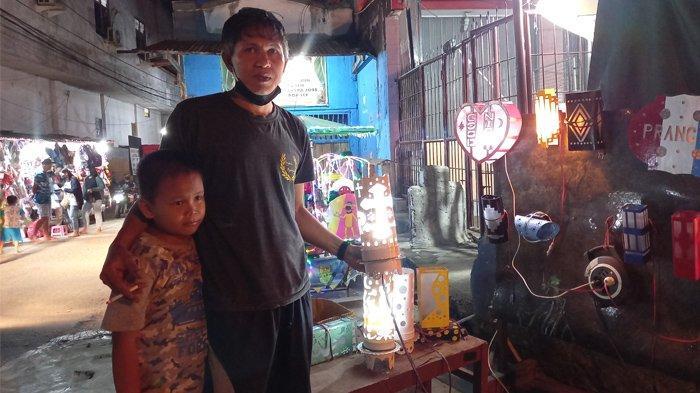 Stenly Kawatu Terinspirasi Euro 2020, Lampu Daur Ulang Sampah Diminati Warga Kota Jayapura