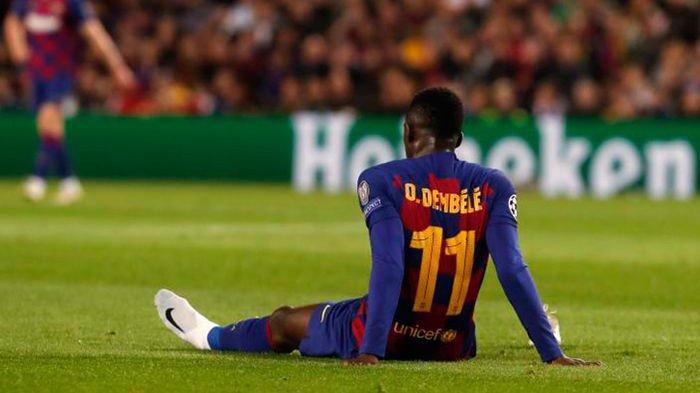 CIDERA - Bocah nakal Barcelona, Ousmane Dembele.