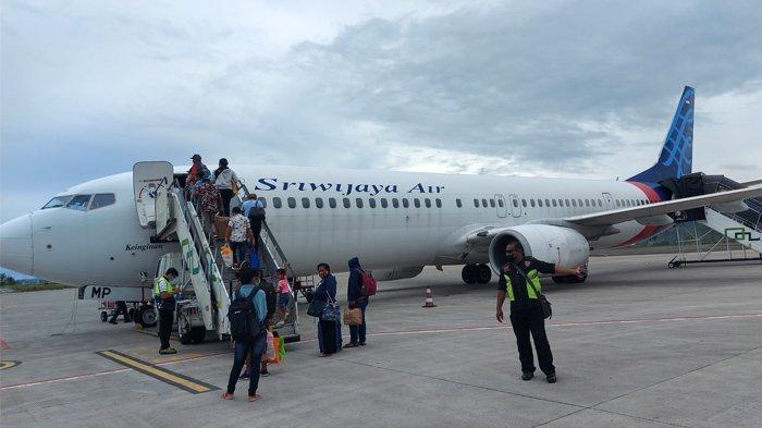 Penerbangan Sriwijaya Air Jayapura-Manokwari Molor, Sejumlah Penumpang Mengeluh