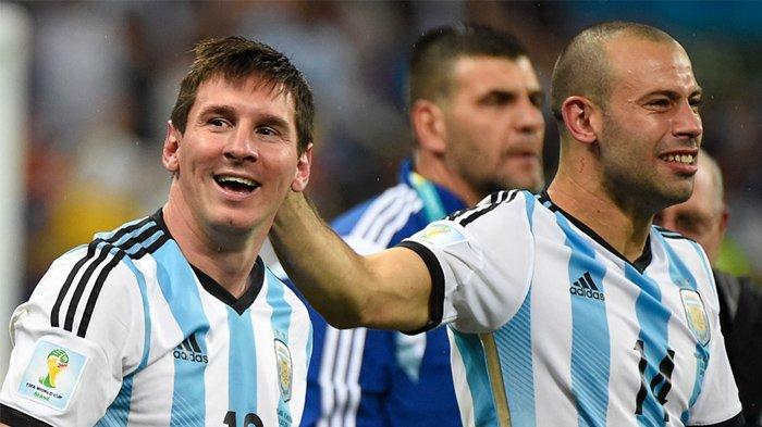 Argentina Menang atas Paraguay, Lionel Messi Catat Rekor Nasional
