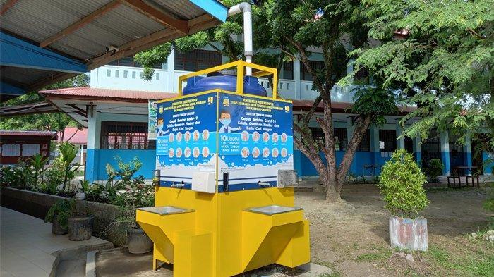 SMA YPPK Teruna Bakti Perketat Protkes, Lengkapi Fasilitas di Area Sekolah
