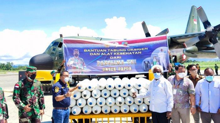 Tokoh Agama di Papua Sambut Baik Bantuan Tabung Oksigen Panglima TNI, Berharap Pandemi Selesai