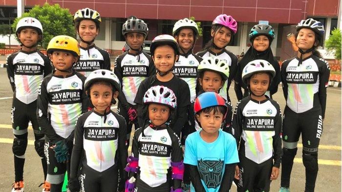 Jayapura Inline Skate, Buka Kelas Bermain Sepatu Roda