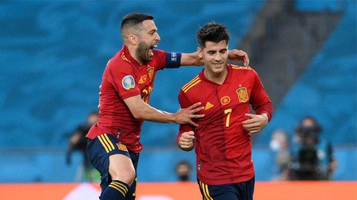 TIMNAS SPANYOL - La Furia Roja berada dalam posisi kritis seperti sekarang. Apalagi, Spanyol dicemooh para pendukungnya sendiri setelah ditahan imbang Polandia 1-1 di Sevilla (20/6/2021).