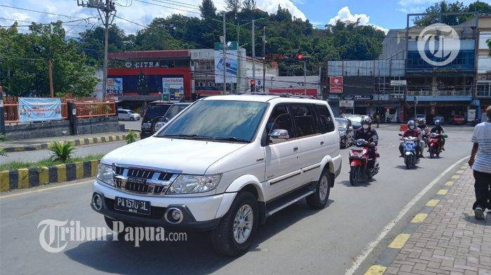 Uji Coba Ganjil Genap Transportasi di Kota Jayapura Mulai Diberlakukan
