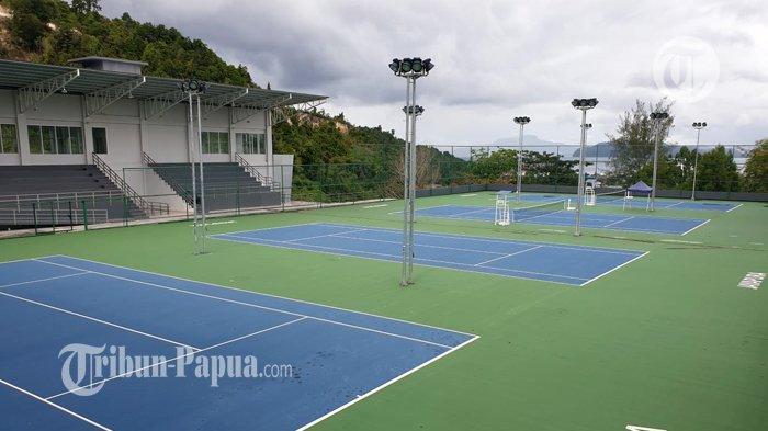 Hampir Rampung, Progress Venue PON XX Klaster Kota Jayapura 95 Persen