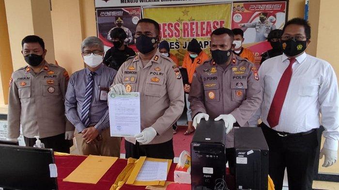 Oknum ASN Pemkot Jayapura dan Pegawai RS Provita Palsukan Surat Tes PCR Diancam 6 Tahun Penjara