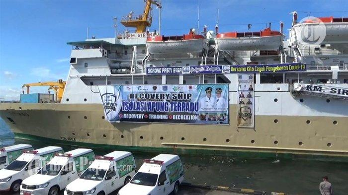 11 Pasien Covid-19 Ikut Pelayaran Perdana di Rumah Sakit Apung Sorong