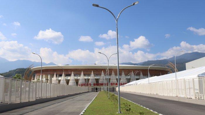 Stadion Lukas Enembe Siap Jadi Opening Ceremony PON XX Papua