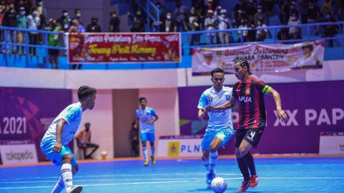 Tim Futsal PON Papua Bungkam NTB 3-2