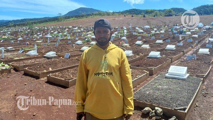 Hasan, Petugas Pemakaman Jenazah Covid-19 Buper Waena: Sempat Dijauhi Keluarga
