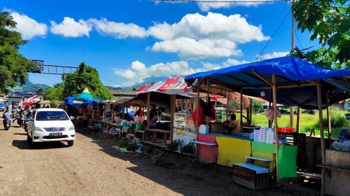 PPKM Level 4, Pedagang di Pasar Youtefa Jayapura Masih Abaikan Prokes