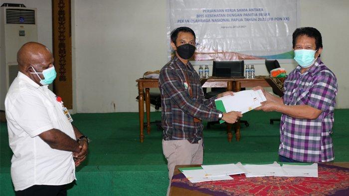 BPJS Kesehatan Dukung Penyelenggaraan PON XX Papua