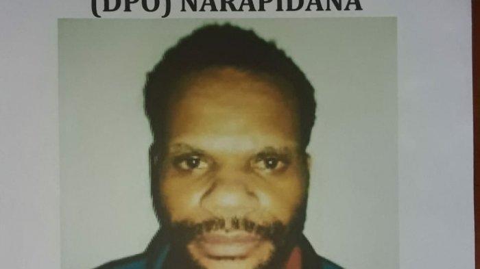 Yonis Murib, anggota KKB Lanny Jaya Papua, kabur dari Lapas Abepura, Kota Jayapura.