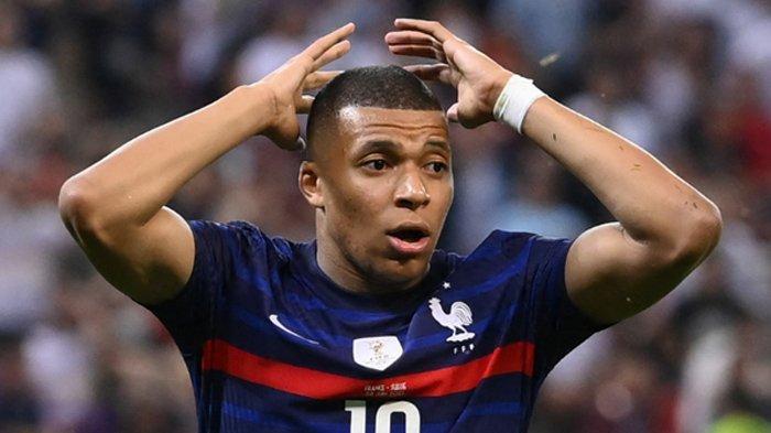 Kylian Mbappe menjadi pecundang di EURO 2020.