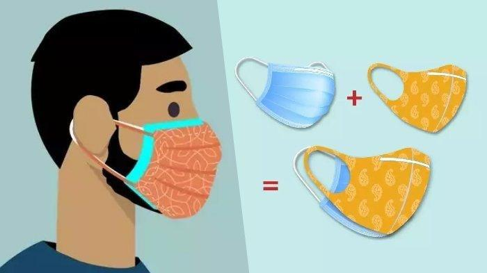 Cara Pakai Masker Dobel yang Benar di Masa PPKM Darurat Covid-19