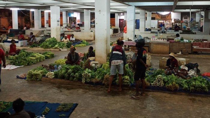 Imbas PPKM Level 4, Pasar Mama-mama Papua Semakin Lesu