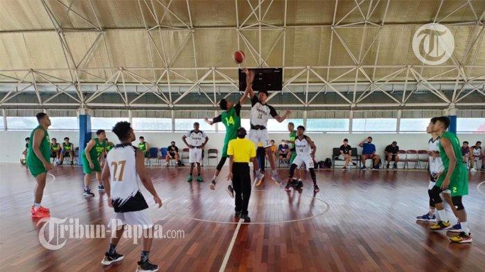 Latihan Diintensifkan, Tim Basket Papua Targetkan 1 Medali Emas di PON XX 2021