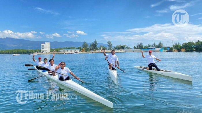 Tim Dayung Papua Targetkan 5 Medali Emas di PON XX 2021