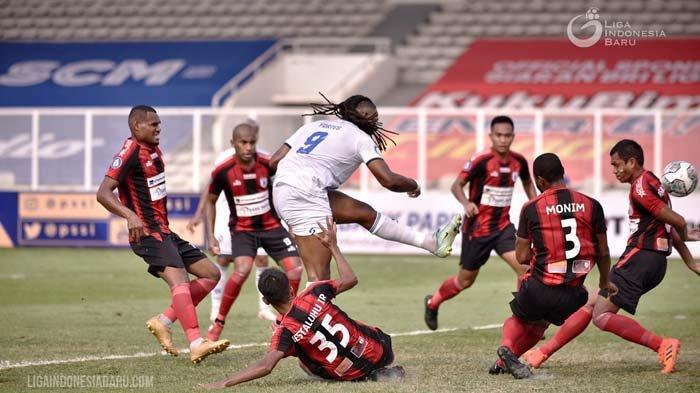 Klasemen Sementara Pekan ke-5 Liga 1 2021: Persipura Jayapura Kembali Mendekati Papan Bawah