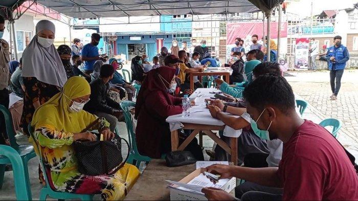 Dorong Herd Immunity, Pengurus Masjid At Taubah Sorong Gelar Vaksinasi Massal