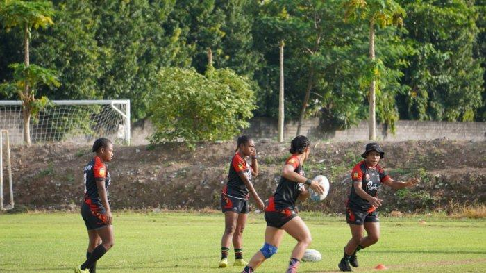 Tim Rugby Putri Papua Matangkan Pemusatan Latihan di Yogyakarta