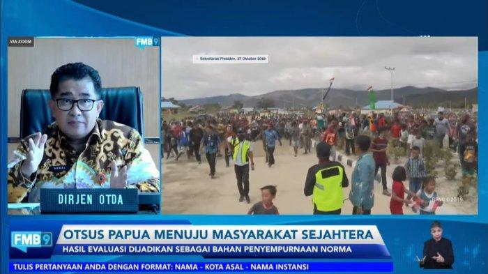 Papua Habiskan 146 Triliun Dana Otsus Sejak 2002, Dirjen Otda: Implementasi di Daerah Tak Maksimal
