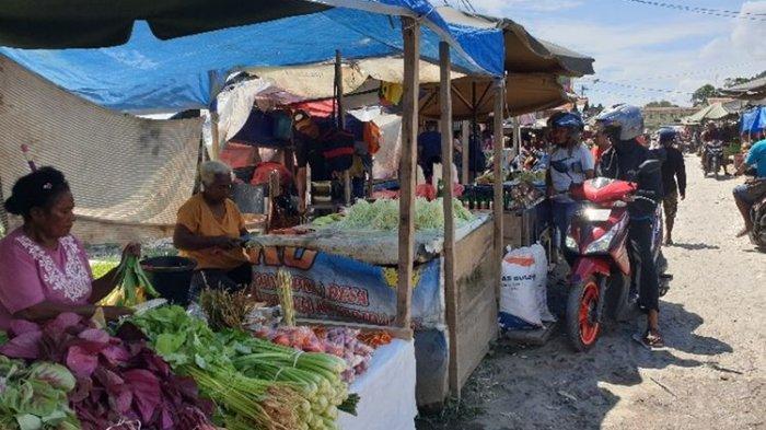 Pemkot Jayapura Tetap Buka Pasar Youtefa meski 100 Pedagang Positif Corona