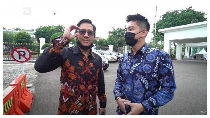 Diundang Jokowi ke Istana, Andre Taulany dan Desta Tertawakan Sule yang Tak Ada: Dia Kurang Ngetop
