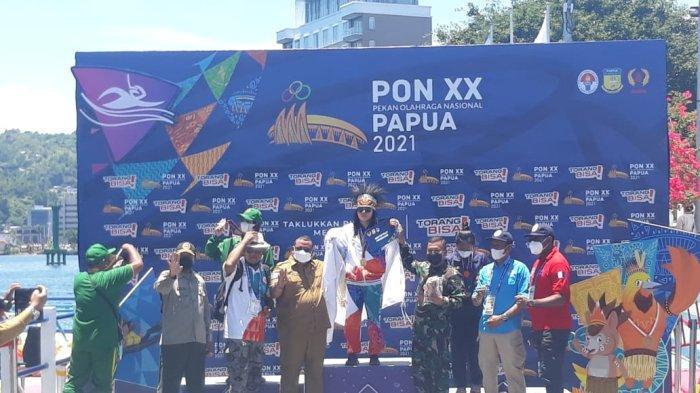 Annisa Fabiola Jadi yang Tersukses, Sumbang 2 Medali Emas Bagi Papua di Selam Laut