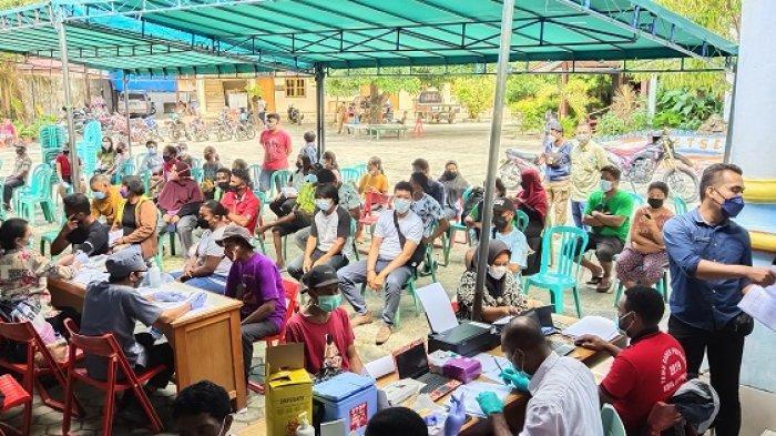 695.946 Orang Telah Tervaksin Covid-19 di Provinsi Papua