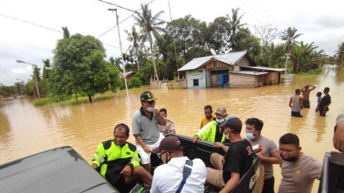 Curah Hujan Tinggi, Sejumlah Wilayah di Keerom Papua Terendam Banjir, Ketinggian Air Capai 50 Cm