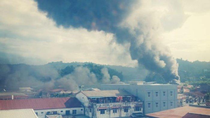 8 Fakta Kerusuhan di Jayapura, Massa Bakar Sejumlah Gedung hingga Terjadi Pemadaman Listrik