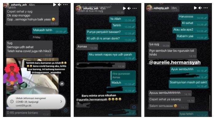 Ashanty sempat meminta mediang Rina Gunawan yang memiliki usaha WO untuk mengurusi pernikahan Aurel Hermansyah dan Atta Halilintar, Selasa (2/3/2021).